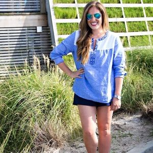 Vineyard Vines Chambray Top