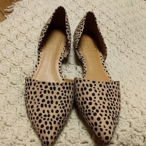 DV by Dolce Vita Shoes - Dolce Vita leopard Abby d'orsay flats