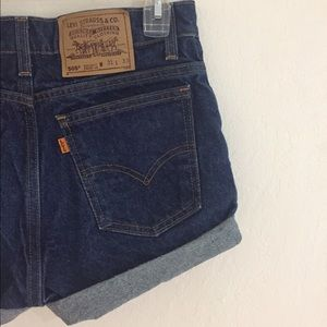 Urban Outfitters Pants - Vintage Levi's high waist 505 shorts