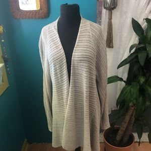 Eileen Fisher Sweaters - Eileen Fisher linen long cardigan