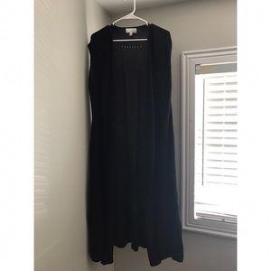 14th & Union  Sweaters - Beautiful flowing long black cardigan