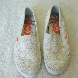 Roxy Shoes - [Roxy] Crochet Slip-on Sneaker