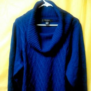 89th & Madison Sweaters - 89th & Madison- Cadet Blue Sweater size 2x