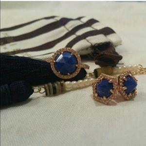 henri bendel Jewelry - Henri Bendel Luxe Semi - Precious Infinity Ring
