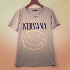 Brand New Nirvana Tee ✌️