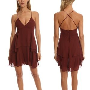 A.L.C. Dresses & Skirts - A.L.C. Shalissa Dress in Raisin