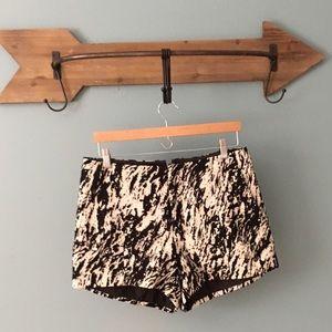 rag & bone Pants - rag & bone Jacquard Marble EM shorts