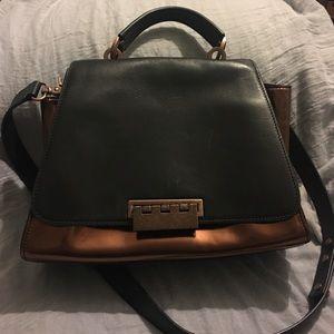 Z Spoke by Zac Posen Handbags - Cute Zac Posen bag. Black/copper color. Long strap