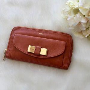 Chloe Handbags - Authentic Chloe Long Zip Wallet