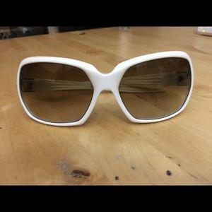 SPY Accessories - Spy dynasty cream white sunglasses