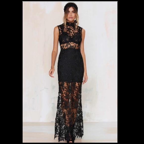 Nasty Gal Dresses Nwt Brand New Lace Up Your Life Prom Dress