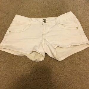 Paris Blues Pants - Paris Blues white Jean shorts