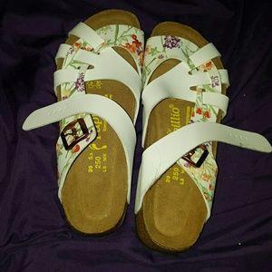 Birkenstock Shoes - Birkenstock Papillio Flora Pisa