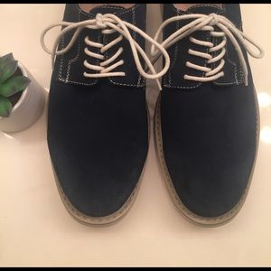 Florsheim Other - 🌿 blue suede shoes 🌿
