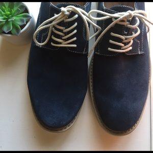 Florsheim Other - 🌿 blue suede shoes 🌿
