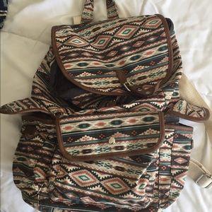 Handbags - Print backpack