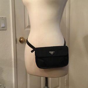 93604ffebd81 Prada Bags - PRADA NYLON FANNY PACK WAIST BAG.