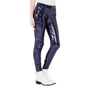 sass & bide Pants - NWT Sass & Bide Runway Vinyl Sequin Skinny Pants