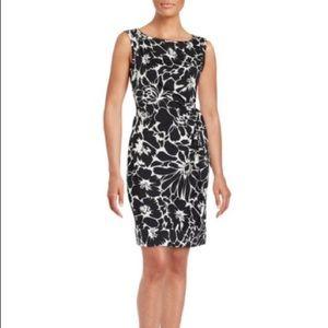 Diane von Furstenberg Dresses & Skirts - NWT DVF Runway Della Black Flower Tie Dress