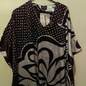 Ashro Dresses & Skirts - Ladies Black & Silver Ashro Dress