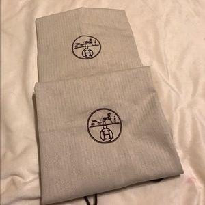 Hermes Handbags - 2 BIG HERMES Dust bags