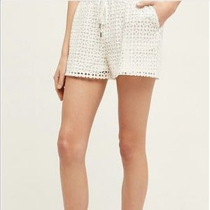 Anthropologie Pants - Anthropologie Elevenses Lace Shorts