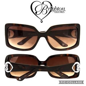 Brighton Always Yours Sunglasses  Brown Tortoise