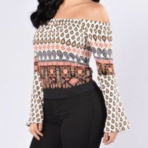 Tops - ✨NEW LIST✨ Wild & Free Boho Flare Bell Sleeve Top