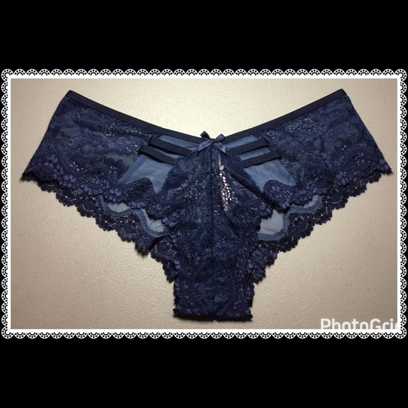 462ea82092 ❤Victoria s Secret Lace   Mesh Cheeky Panty❤