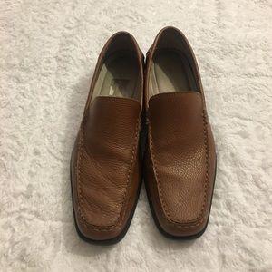 Calvin Klein Other - Calvin Klein Dress Shoes Brown Slip On Size 10