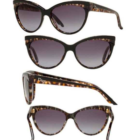 7f00171b09 Dior Accessories - Dior Sauvage Black Panther Cat Eye Sunglasses