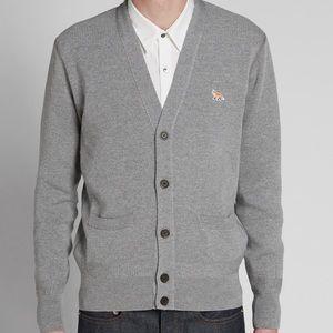 MAISON KITSUNE Other - Maison Kitsune cardigan 100% extrafine merino wool