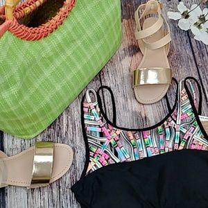 Hobie Other - Hobie Cropped Neck Bikini Top Only