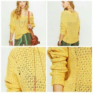 Free People Sweaters - Free People Laguna Coast Knit V Neck Sweater S