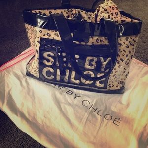 See by Chloe Handbags - Authentic See By Chloe Clear Tote