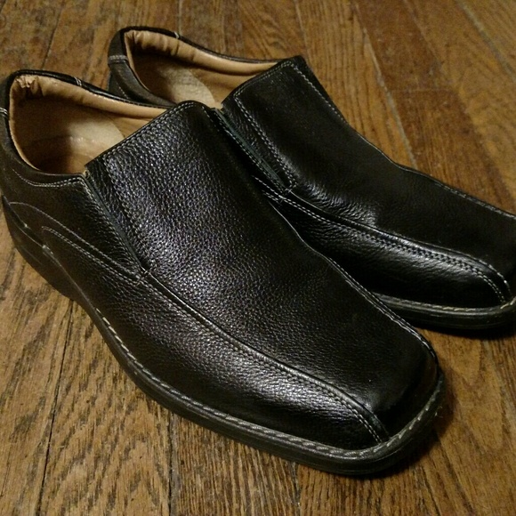 Dockers Leather Slip On Mens Loafers Size 9.5 M