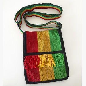 Handbags - Mini Rasta Crossbody Bag