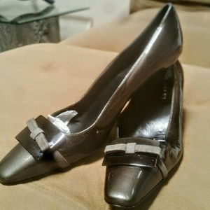 Amalfi  Shoes - *NWOB Classy Amalfi Patent Buckle Pumps*