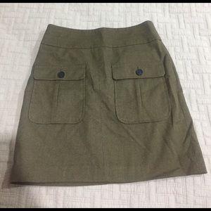 Loft size 00 mini skirt