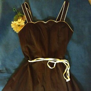 r&k originals Dresses & Skirts - R&k Originals dark brown midi dress