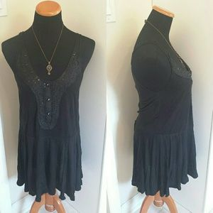 BOGO FREE FP Drop Waist dress w/ Beaded Bust