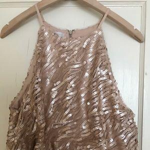 d9daff5b2d3 BHLDN Dresses - Rose Gold BHLDN Sequined Alana Dress