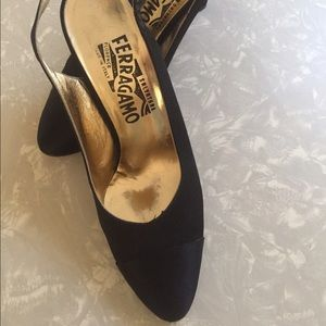 Ferragamo Shoes - Salvatore Ferragamo, Sling Back Heels, Size 7