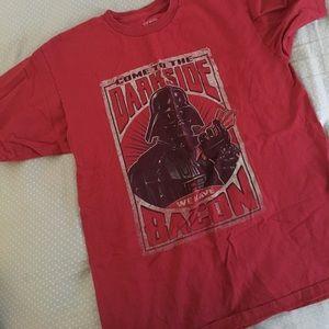 """Star Wars Other - Star Wars Distressed """"Dark Side"""" Shirt"""