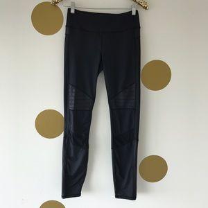 Kyodan Pants - Kyodan Black Moto Yoga Pants
