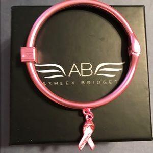 Ashley Bridget Jewelry - Ashley Bridget Breast Cancer bracelet