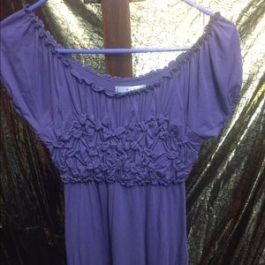 A Kenar purple blouse    Medium    Like New