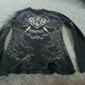 Sinful Tops - Sinful long sleeve size med