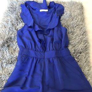 Pins & Needles Other - Pins and needle Royal blue romper