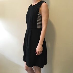 Madewell Dresses & Skirts - Madewell Black Striped Verse Sleeveless Dress
